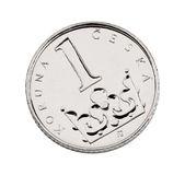 Česká jedna mince