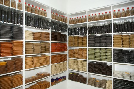 Shop of exotic Indian spices