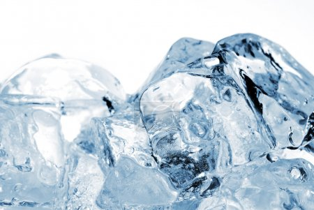 Photo for Ice cubes very close up - Royalty Free Image