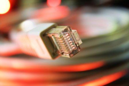 Photo pour Câble réseau - image libre de droit