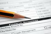 Finanční reference slova