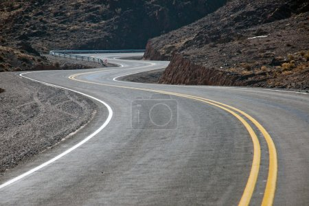 Twisting road in northern Argentina