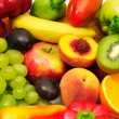 Fruits and vegetables...