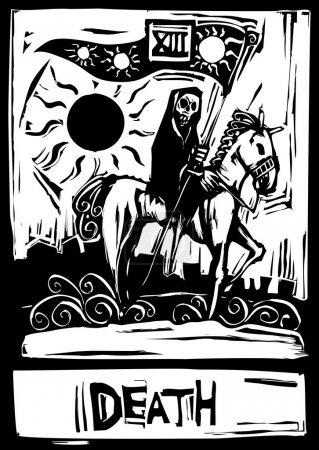 The tarot card for death number thirteen.