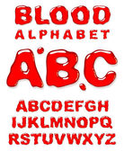 Blood alphabet