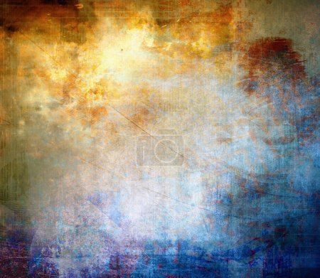 Color grunge background