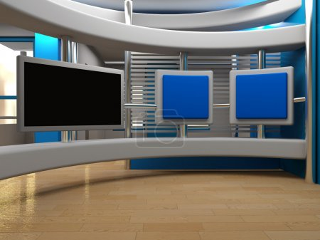 Photo for Studio background for tv - Royalty Free Image