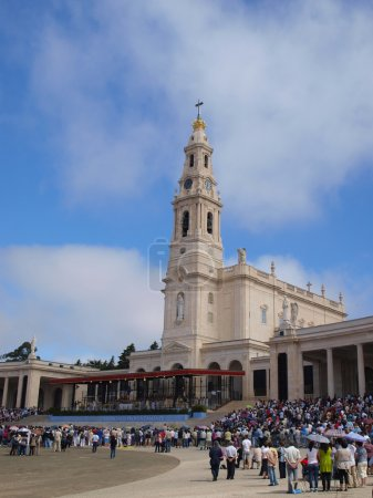 Basilica of Our Lady of the Rosary of Fatima in Portugal