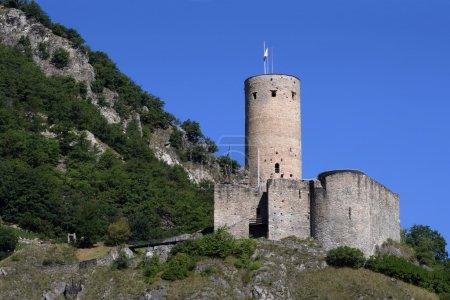 Chateau de la Batiaz in Switzerland