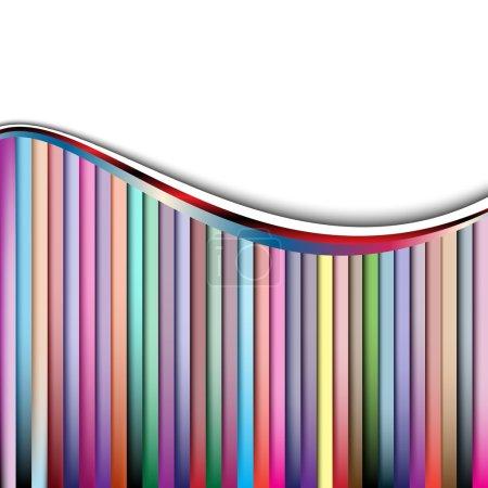 Illustration pour Vecteur fond créatif. clip-art - image libre de droit