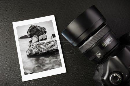 Photo pour Photographie noir et blanche - image libre de droit