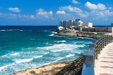 Beautiful landscape, La Manga seaside