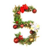 Vánoční abeceda číslo