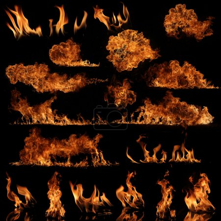 Photo for High resolution fire collection - Royalty Free Image