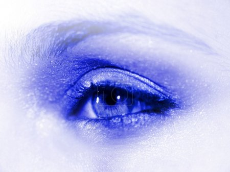 Womans eye