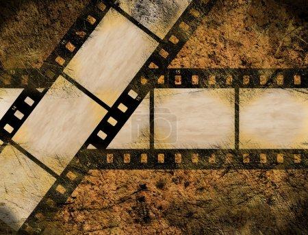 Photo pour Vieux cadres photo vintage - image libre de droit