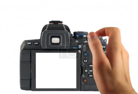 Dslr photographing