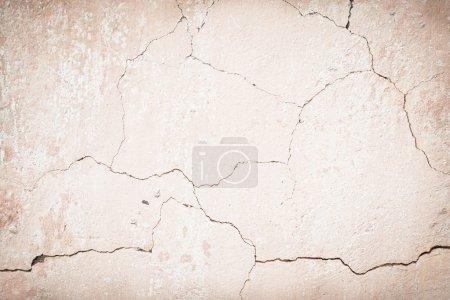 Foto de Antigua pared agrietada - Imagen libre de derechos