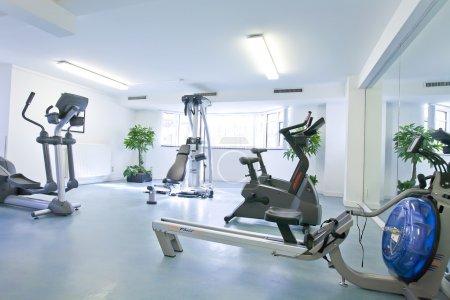 Empty sport space