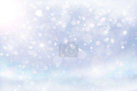 Foto de Abstact Navidad azul - Imagen libre de derechos
