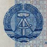 Постер, плакат: DDR banknote
