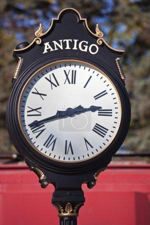 Historic Clock in Antigo
