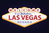 Vector illustration of a Vegas signboard