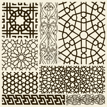 Arabesque designs