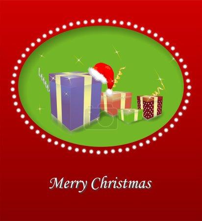 Marry Christmas vector illustration