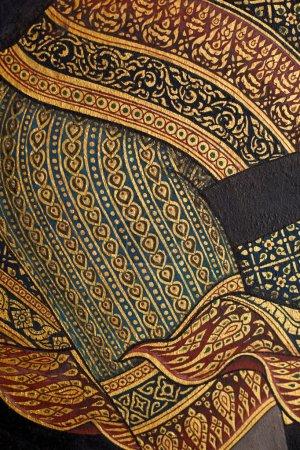Background thai paint