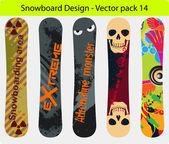 Snowboard design pack 14