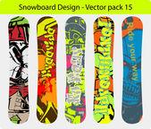 Snowboard design pack 15