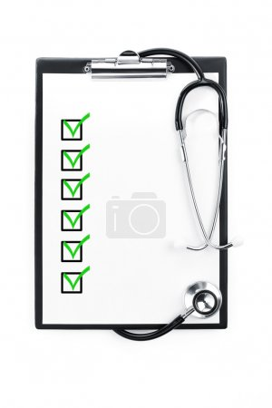 Medical exam with clipping path