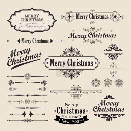 Christmas vintage design