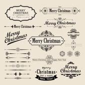 Vánoční vintage design