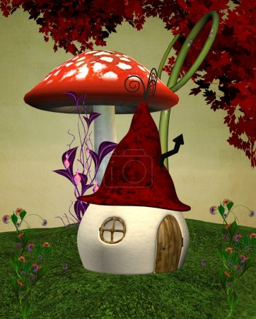 Elves strange house