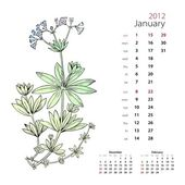Calendar 2012 (January)