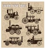 Steam-punk cars
