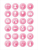 Pink web signs