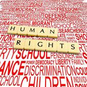 """Постер, картина, фотообои """"права человека"""""""