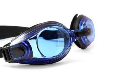 Glasses for swimming on white background.