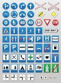 Traffic signs: Information