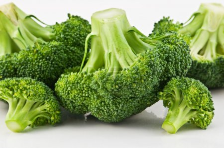 Photo for Green fresh broccoli close up - Royalty Free Image
