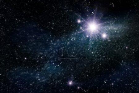 Foto de Espacio abstracto y fondo estrella - Imagen libre de derechos