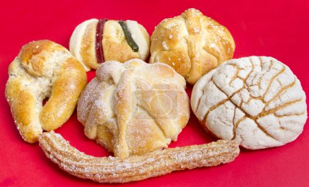Mexican Traditional Sweet Bread