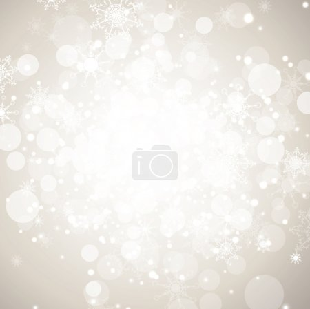 Winter holiday abstract background
