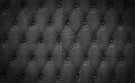 Photo pour Fond texture cuir foncé - image libre de droit