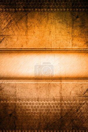 Photo pour Fond brun et orange grunge - image libre de droit