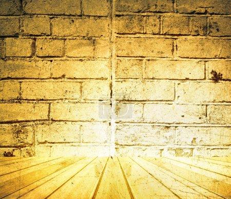 Sol et mur