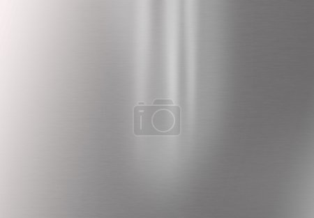 Foto de Fondo horizontal de acero inoxidable brillante - Imagen libre de derechos